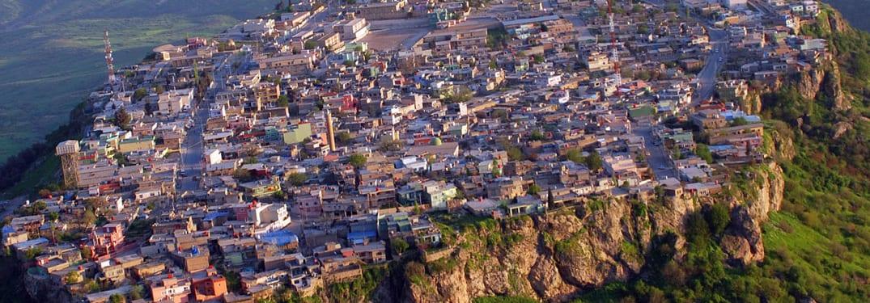 مدينة العمادية في محافظة دهوك