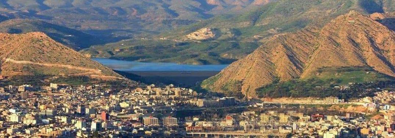 مدينة دهوك في محافظة دهوك