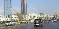 منطقة الدوار السابع في محافظة عمان