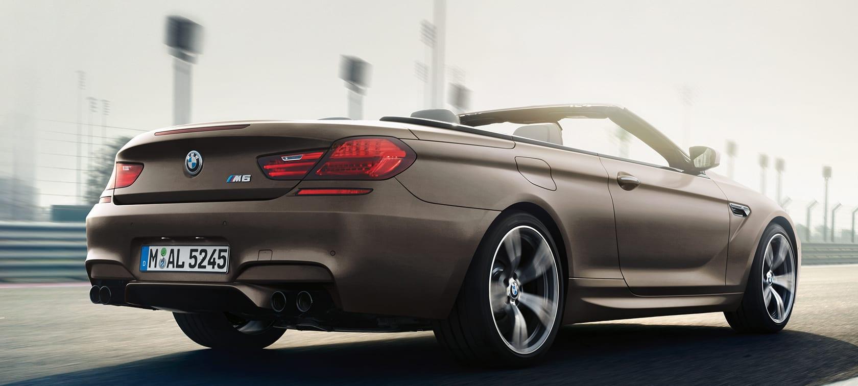 BMW m6 سيارة
