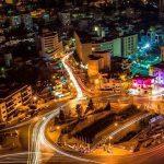 منطقة الدوار الرابع في محافظة عمان