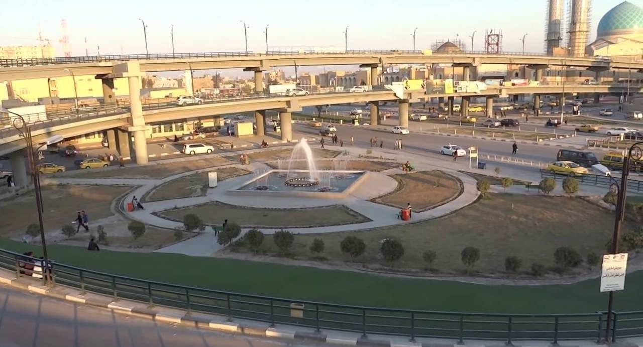 مدينة النجف في محافظة النجف