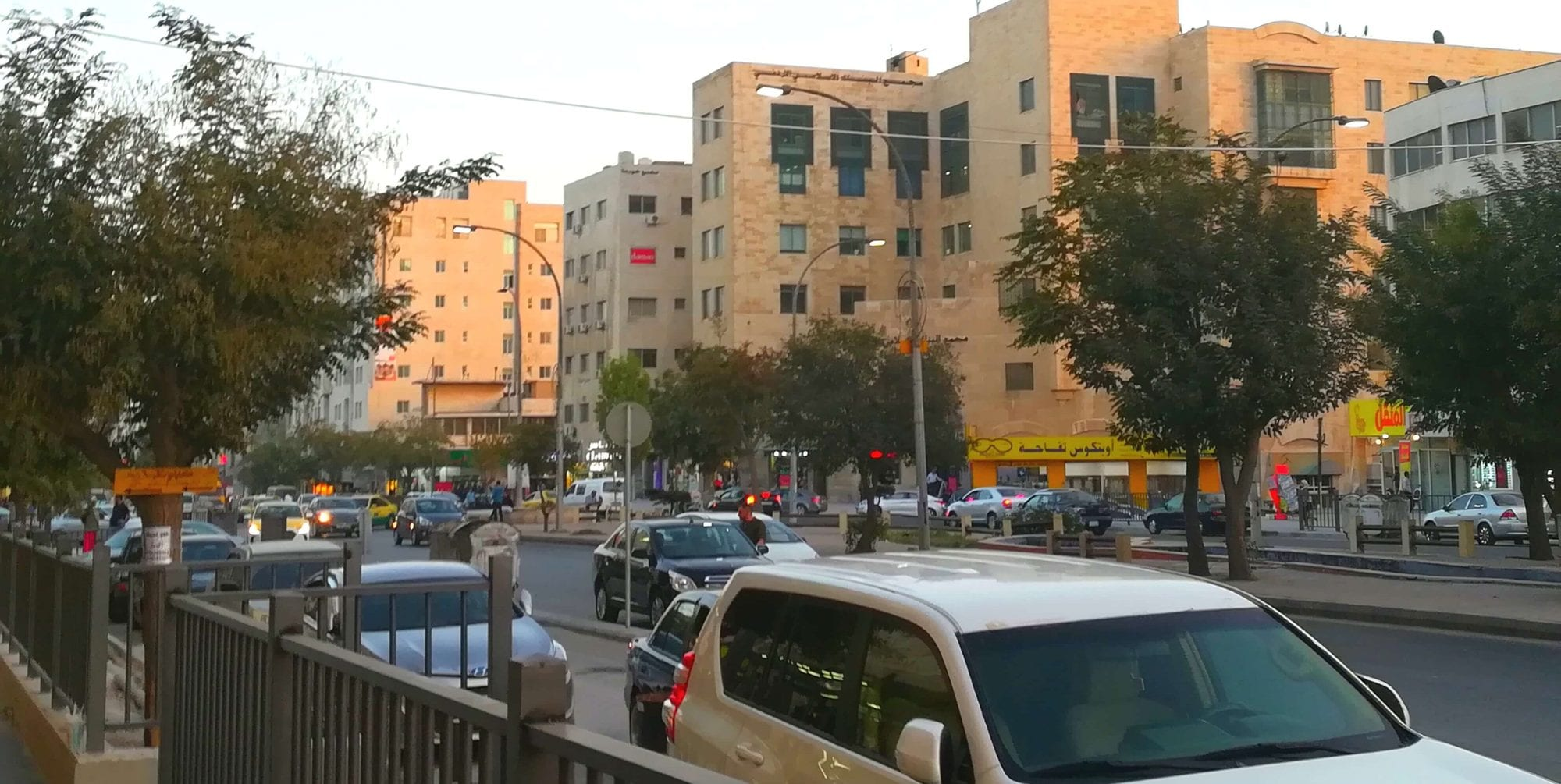 منطقة جبل الحسين في محافظة عمان