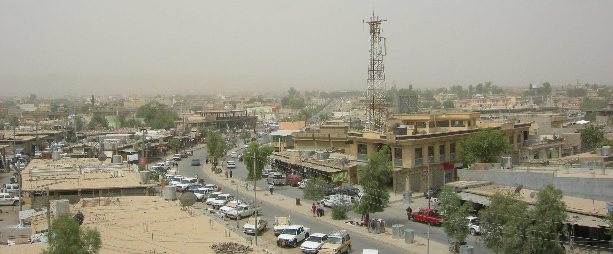 مدينة جمجمال في محافظة السليمانية