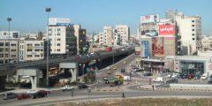 منطقة شارع المدينة في محافظة عمان