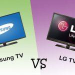 أيهما أفضل شاشات سامسونج أم إل جي