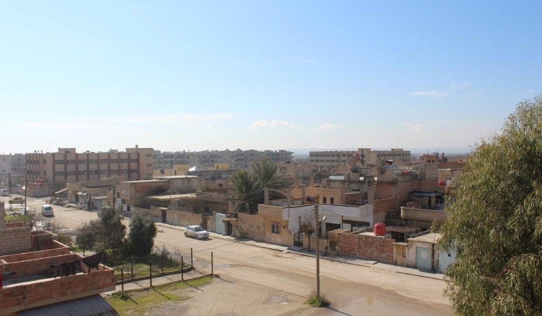 مدينة رأس العين في سوريا