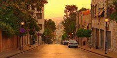 منطقة الدوار الأول في محافظة عمان