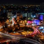 منطقة الدوار الثالث في محافظة عمان