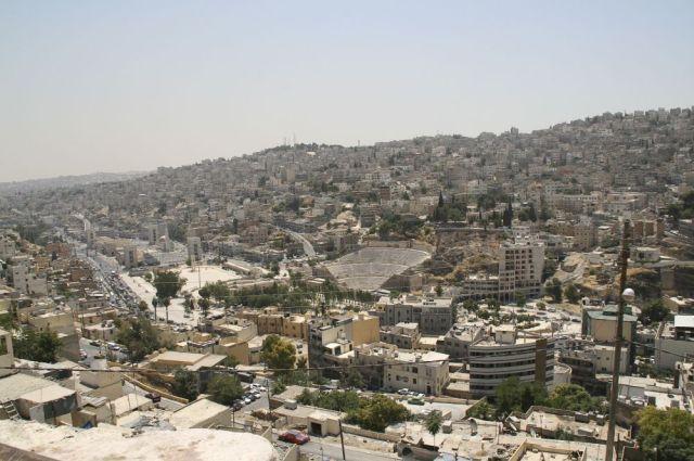 منطقة وسط البلد في محافظة عمان