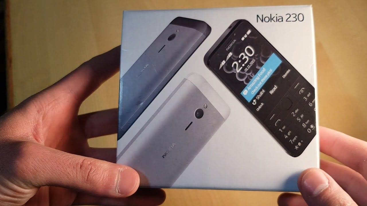 موبايل نوكيا 230