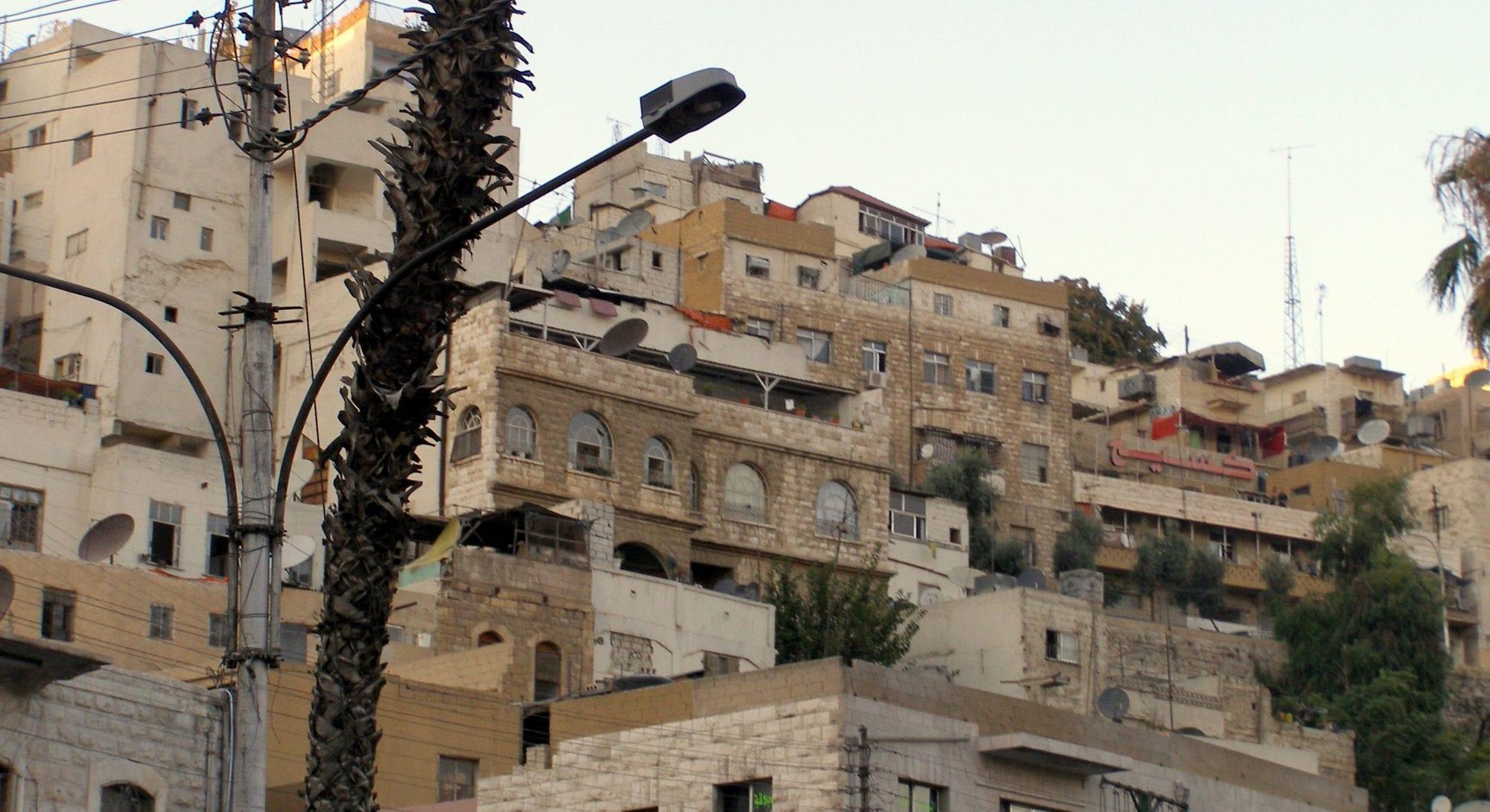 منطقة جبل النزهة في عمان