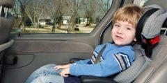 سلامة الأطفال في المركبة