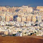 تقسيم مدينة مسقط في سلطنة عمان