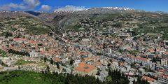 مدينة زحلة في لبنان