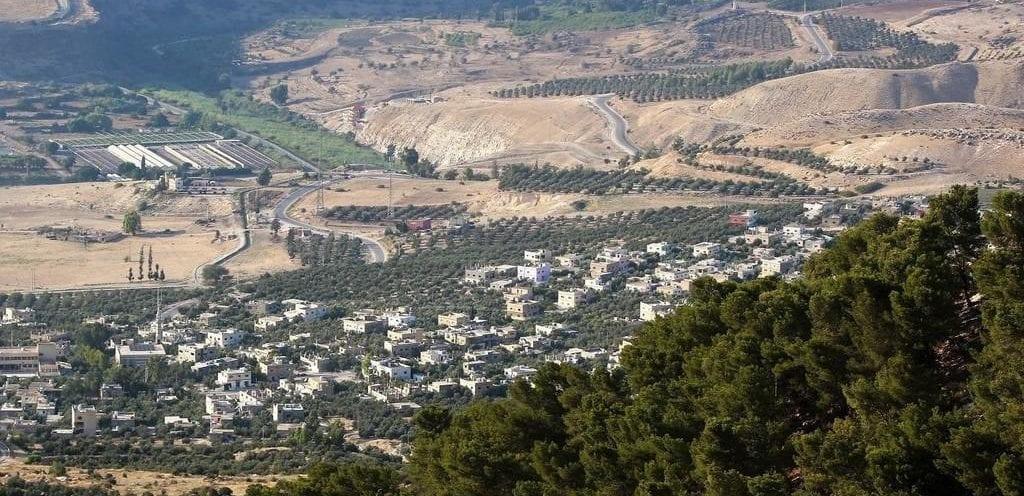منطقة الحي الغربي في محافظة إربد