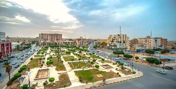 مقاطعة الزاوية في ليبيا