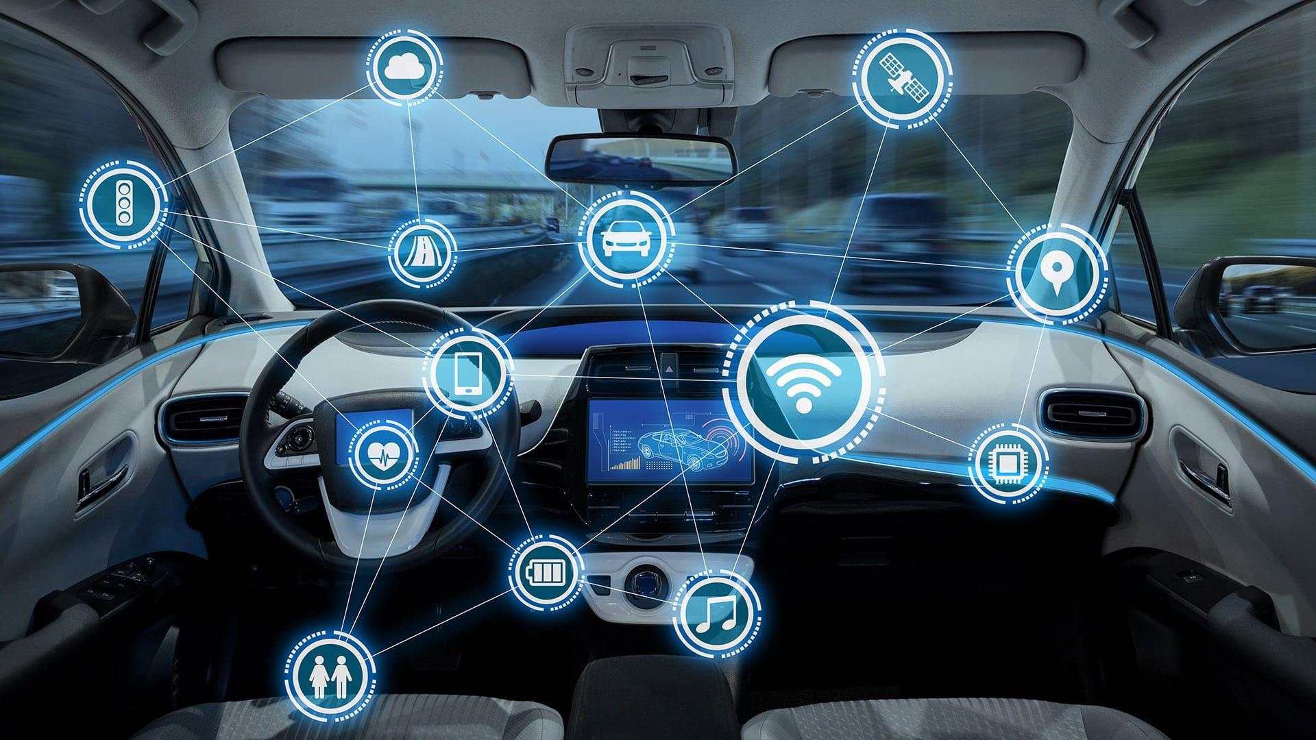 أحدث التقنيات التكنولوجية في السيارات الجديدة
