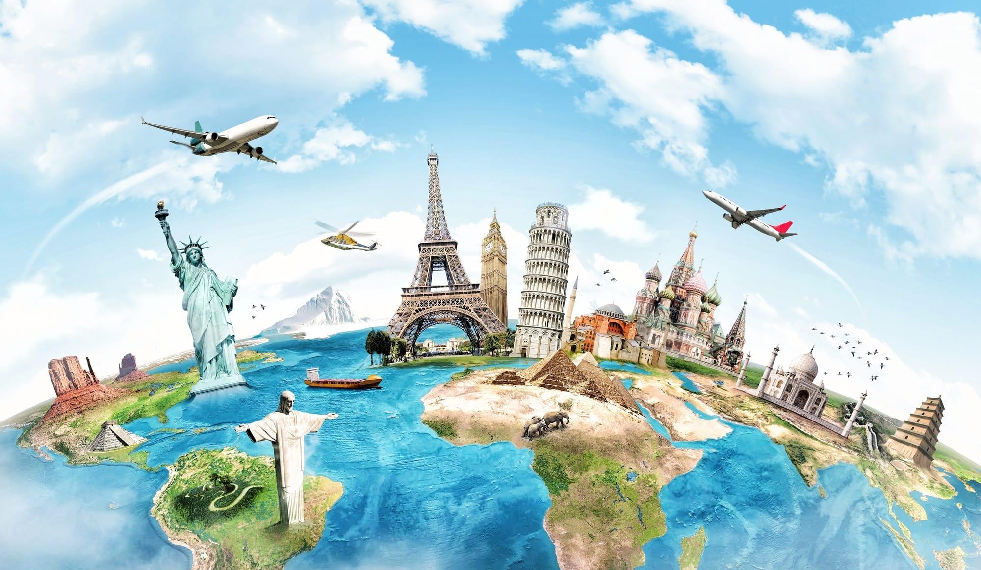 أفضل أماكن سياحية في العالم