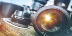 أنواع الكاميرات