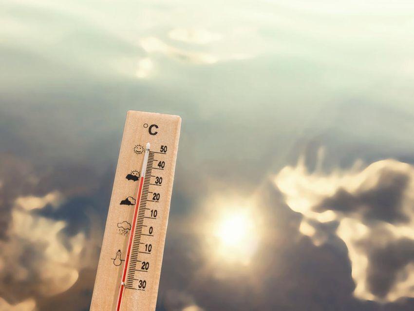 درجات الحرارة في العراق