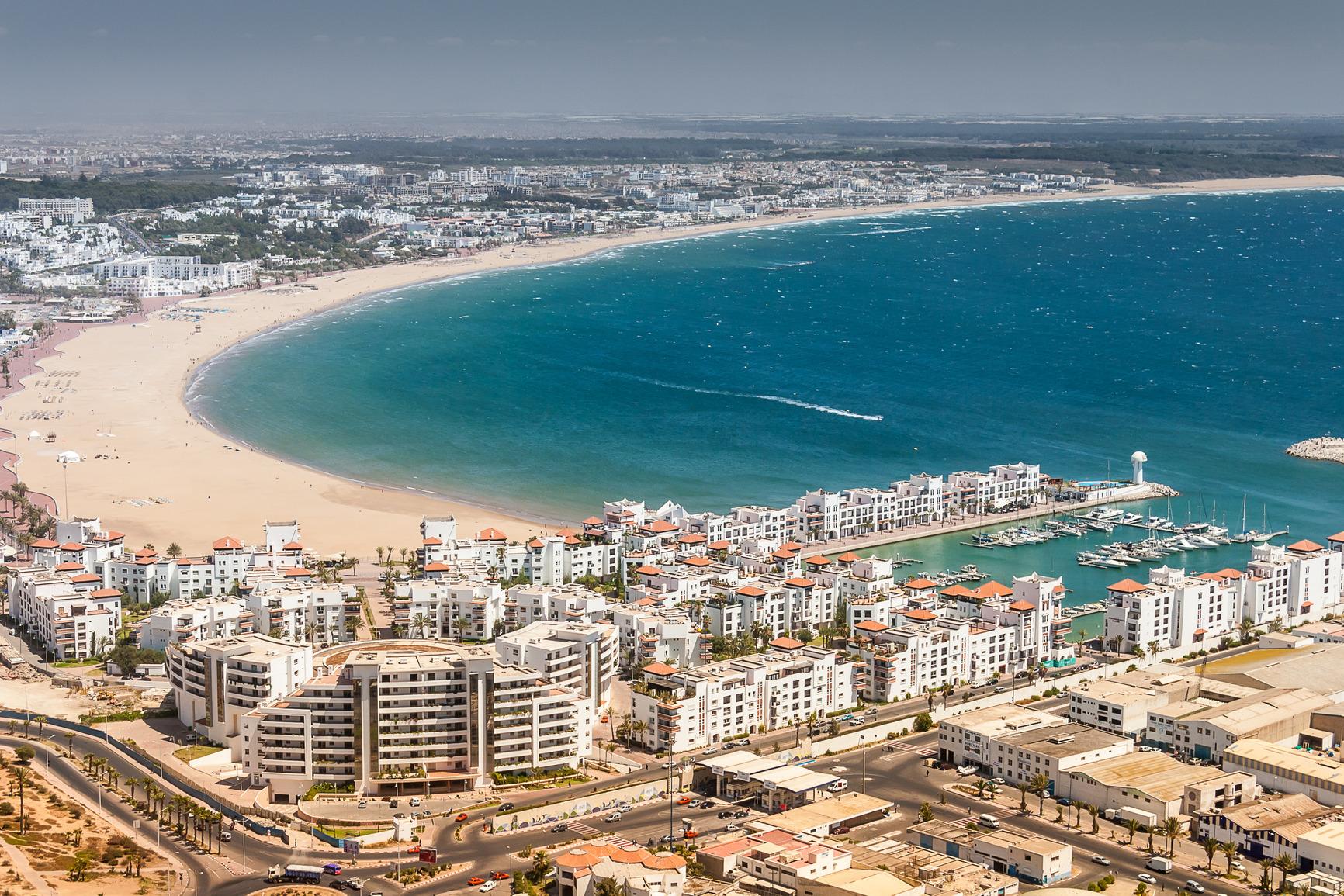 مدينة أغادير في المغرب