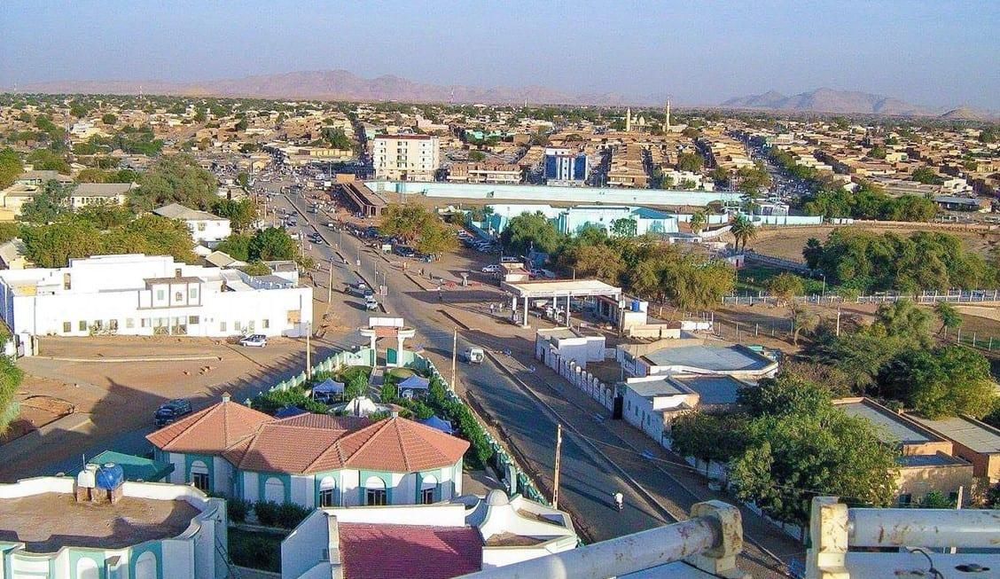 مدينة طويشة في السودان
