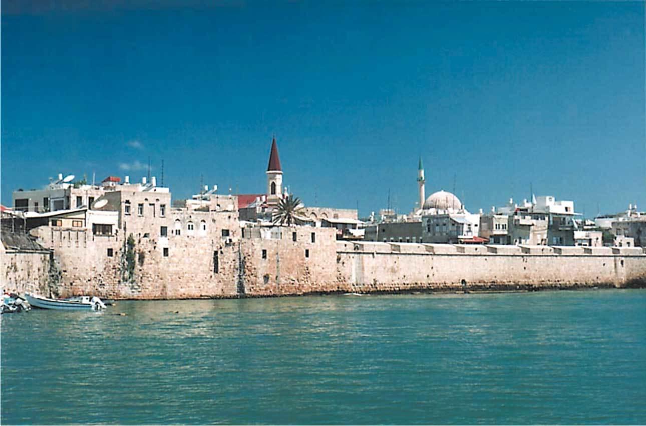 مدينة عكا في فلسطين
