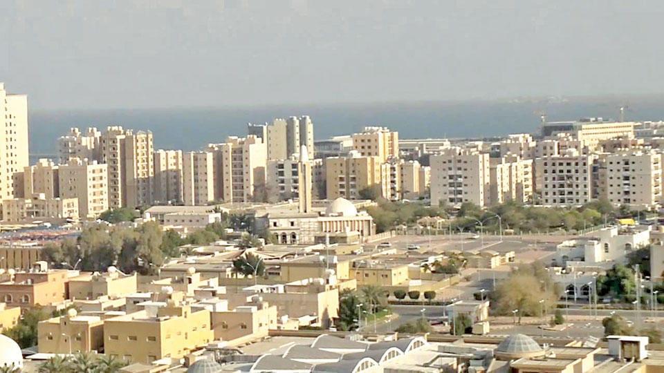 منطقة أبو حليفة في مدينة الأحمدي