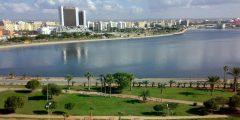 مدينة بنغازي في ليبيا