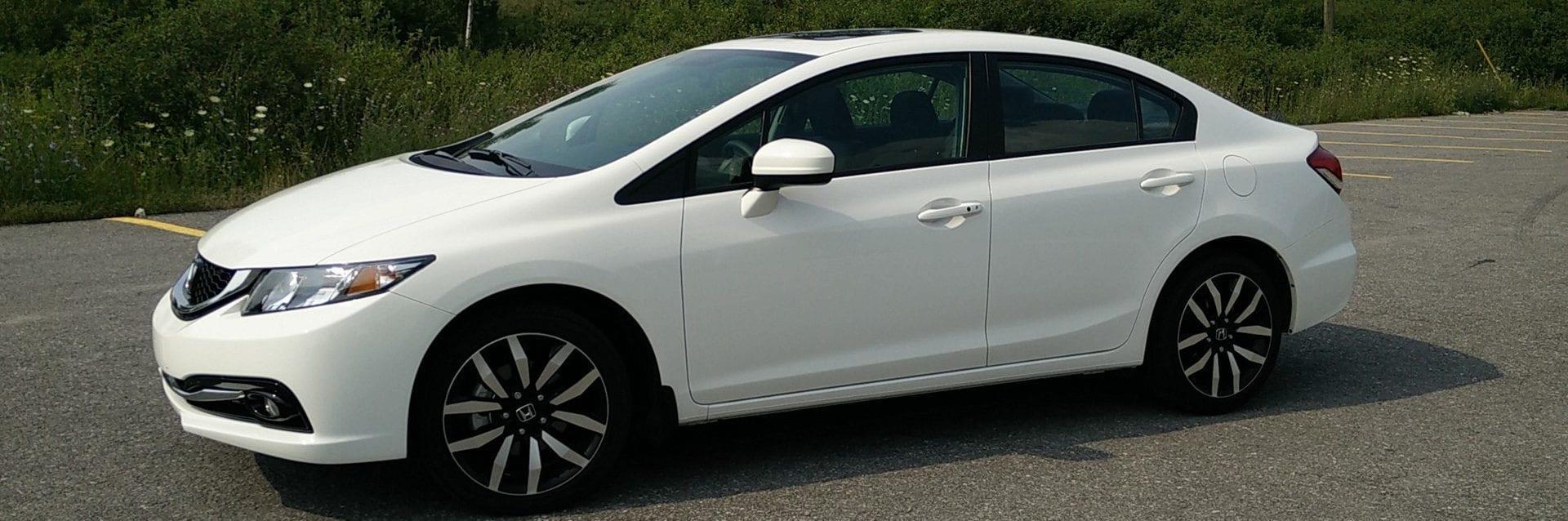 سيارة هوندا سيفيك 2015