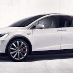 2018 X سيارة تيسلا