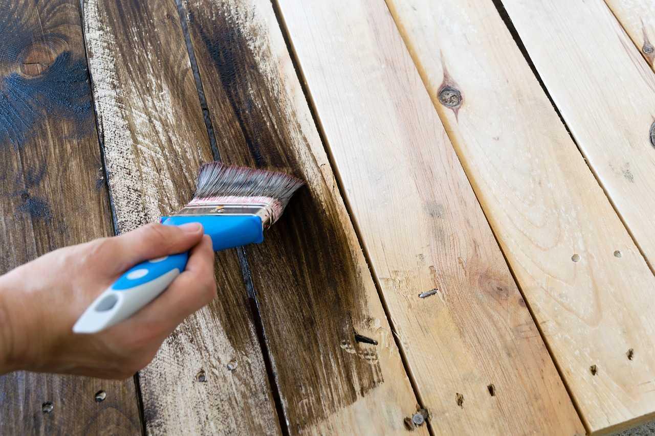 طريقة بوية الخشب