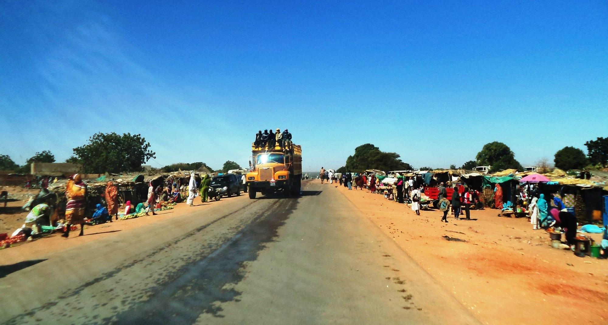 محلية الجنينة في السودان