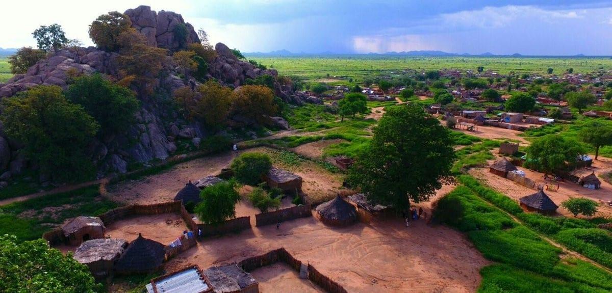 محلية الدلنج في السودان