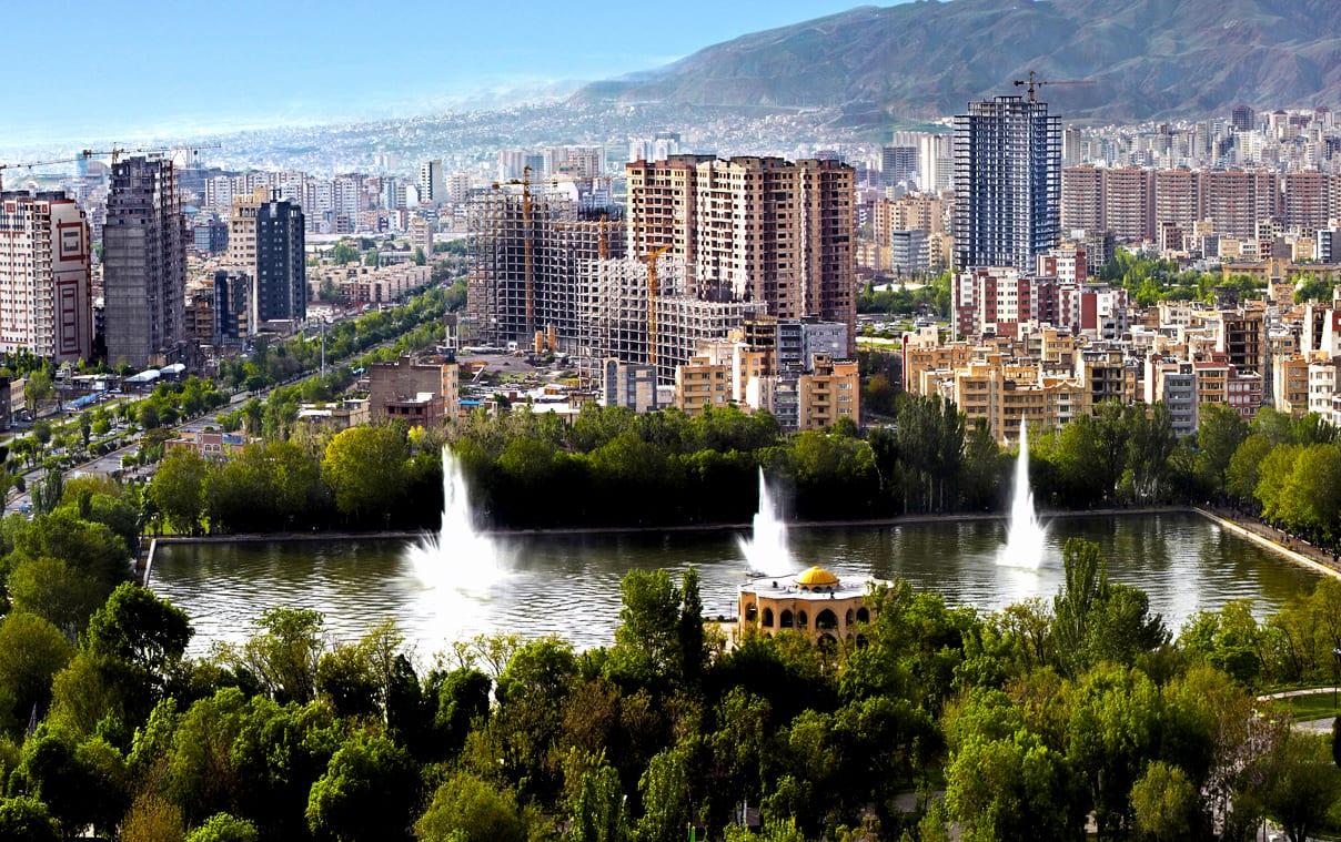 مدينة تبريز في إيران