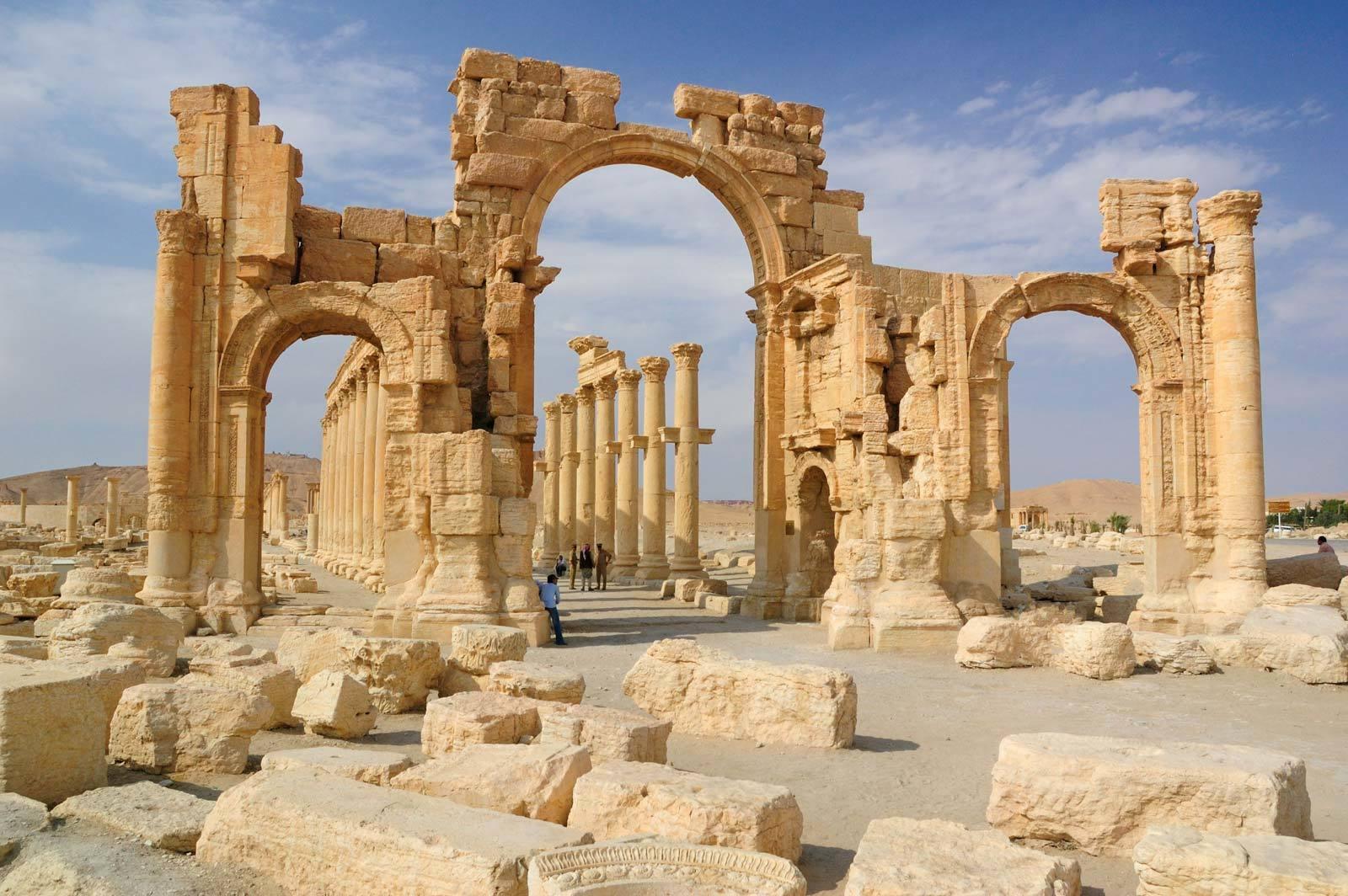 مدينة تدمر في سوريا