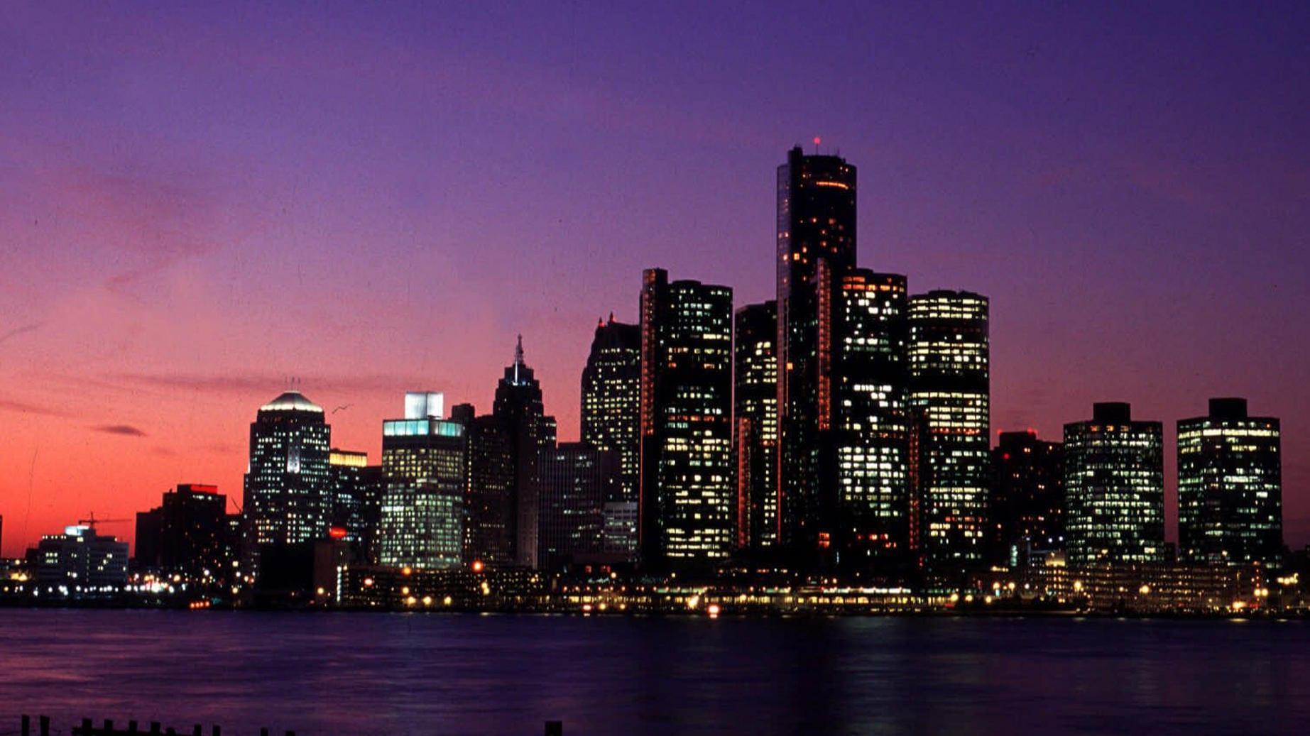 مدينة ديترويت في أمريكا