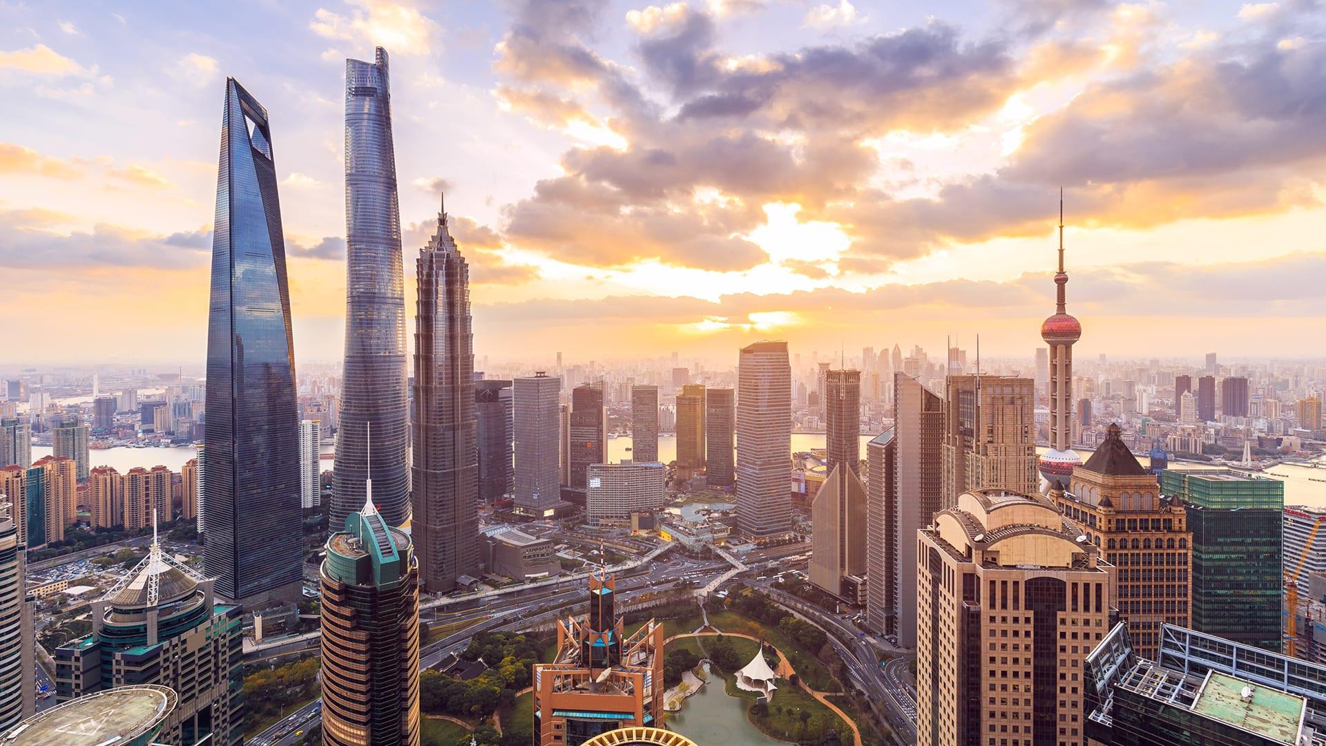 مدينة شنغهاي في الصين
