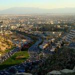 مدينة شيراز في إيران