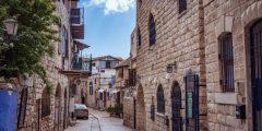 مدينة صفد في فلسطين