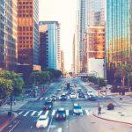 مدينة لوس انجلوس في أمريكا