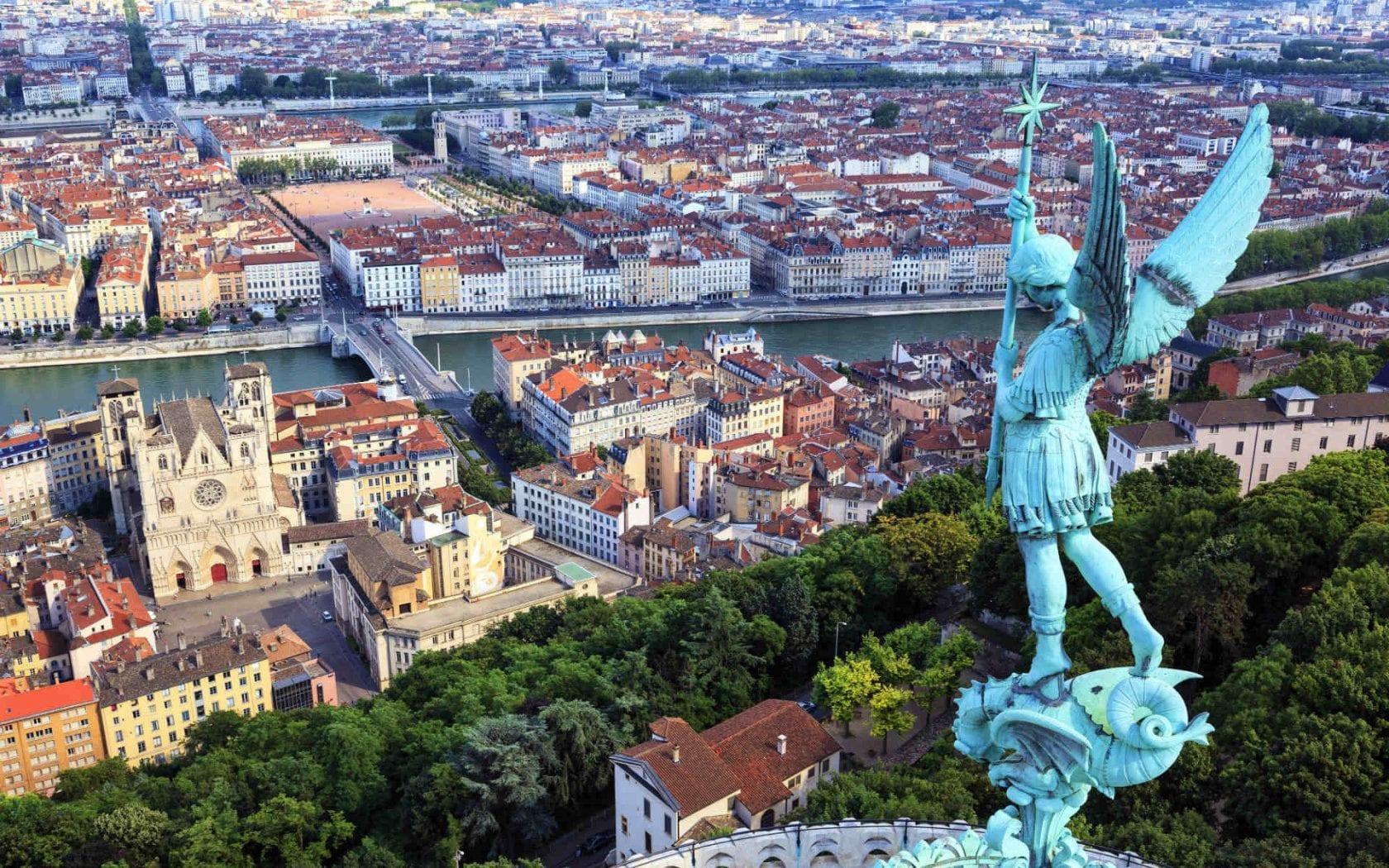 مدينة ليون في فرنسا
