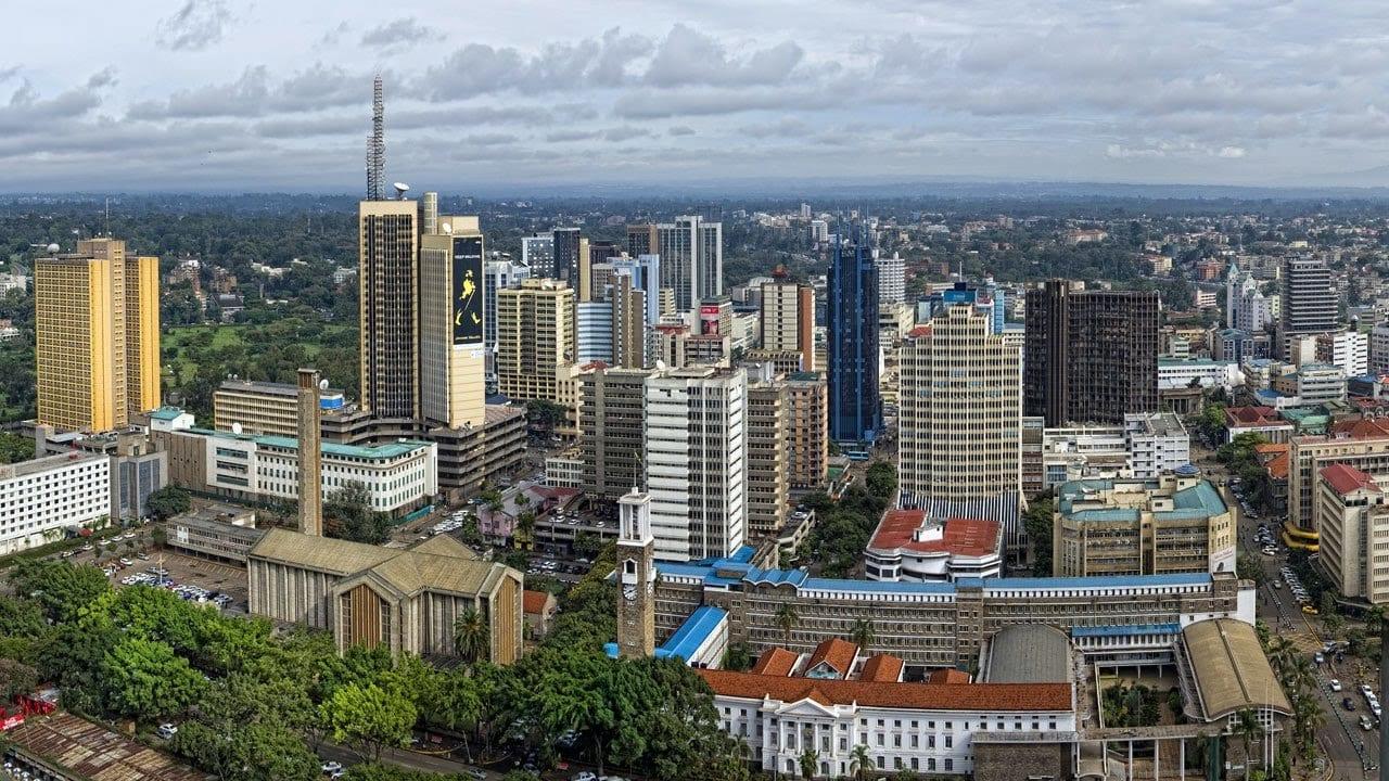 مدينة نيروبي في كينيا