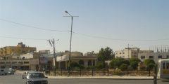 منطقة دوار البياضة في محافظة إربد