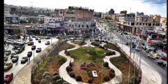 منطقة شارع فلسطين في محافظة إربد