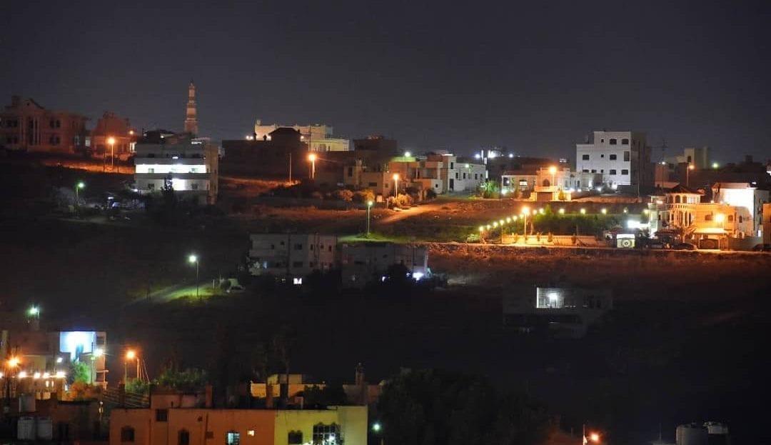 منطقة دوار اللوازم في محافظة إربد
