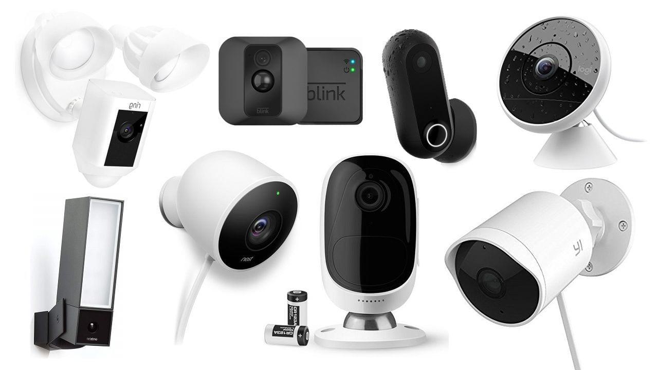 أفضل كاميرات المراقبة الخارجية