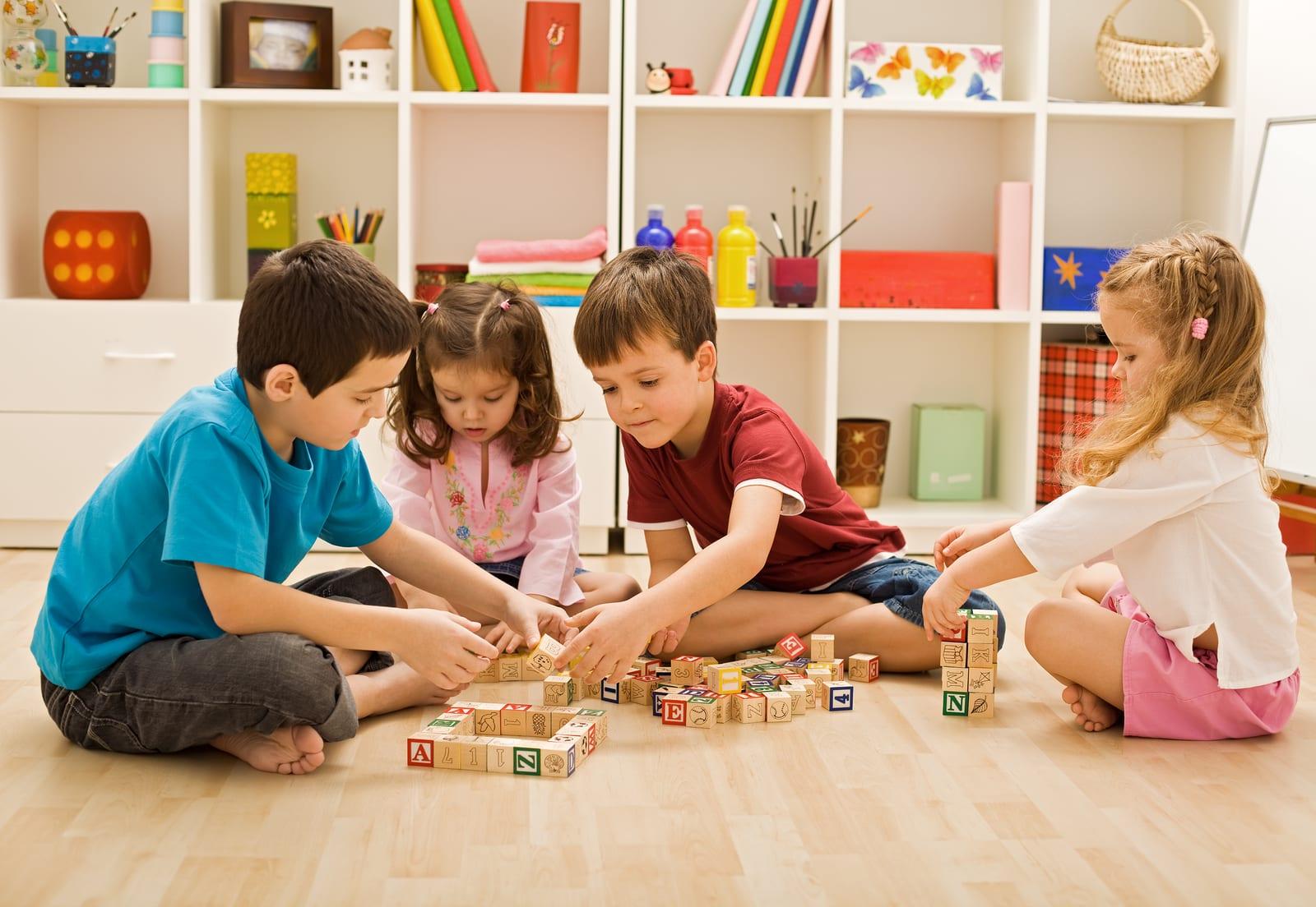 ألعاب جماعية للأطفال