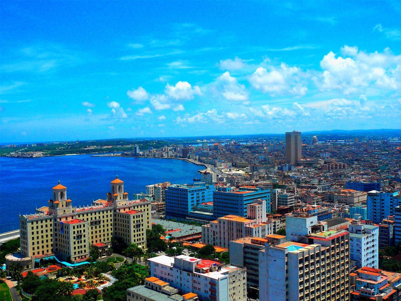 مدينة هافانا في كوبا